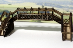 Arch N gauge footbridge 1