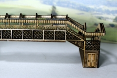 Arch N gauge footbridge 3
