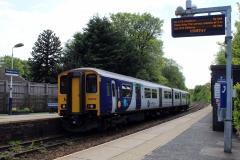 Class 150 at Bromley Cross