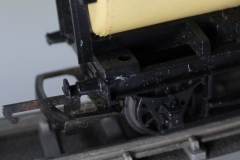 Buffer and axle box detail